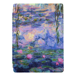 Wasser-Lilie Monet Impressionismus-schöne Kunst iPad Pro Hülle