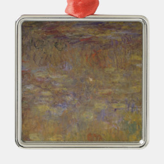 Wasser-Lilie Teich Silbernes Ornament