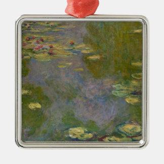 Wasser-Lilien, 1919 Silbernes Ornament