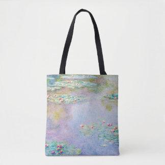 Wasser-Lilien-Claude Monet-schöne Kunst Tasche