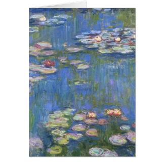 Wasser-Lilien Claude Monets // Karte