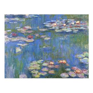 Wasser-Lilien Claude Monets // Postkarte
