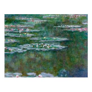Wasser-Lilien Claude Monets // Postkarten