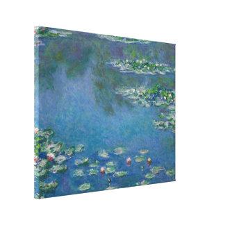 Wasser-Lilien durch Claude Monet Leinwanddruck