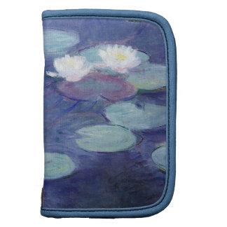 Wasser-Lilien durch Claude Monet Folio Planer
