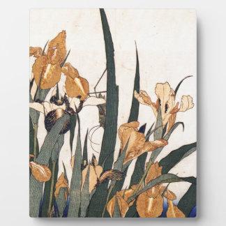 Wasser-Lilien Fotoplatte