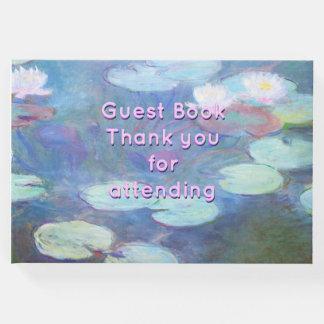 Wasser-Lilien Gästebuch