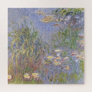 Wasser-Lilien, Gruppe des Grases Puzzle