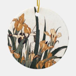 Wasser-Lilien Keramik Ornament