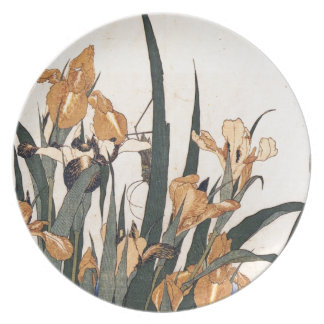 Wasser-Lilien Melaminteller