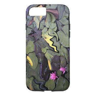 Wasser-Lilien-Mosaik-Telefon-Kasten iPhone 8/7 Hülle