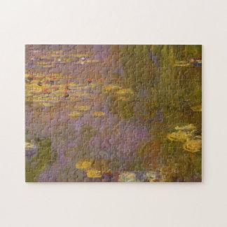 Wasser-Lilien Nympheas Puzzle