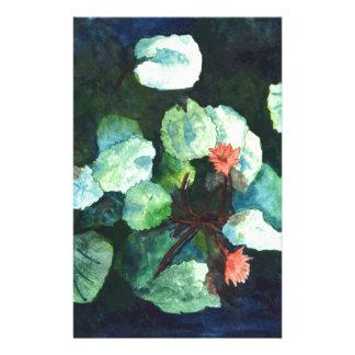Wasser-Lilien-Sammlung - Gewohnheit, Briefpapier