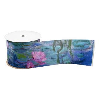 Wasser-Lilien Satinband