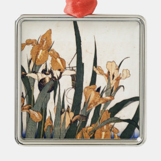 Wasser-Lilien Silbernes Ornament