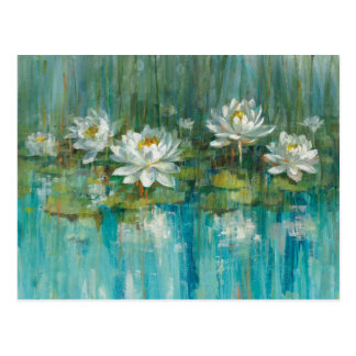Wasser-Lilien-Teich Postkarte