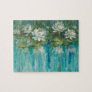 Wasser-Lilien-Teich Puzzle