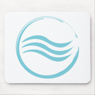 Wasser-Logo Mauspad
