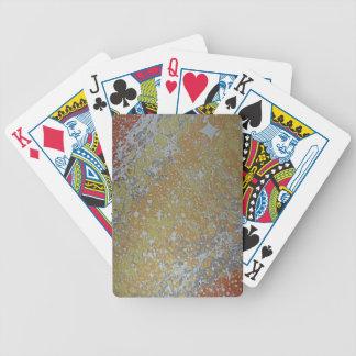 Wasser-Marmorn - Kosmos Bicycle Spielkarten