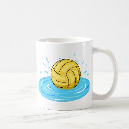 Wasser-Polo-Ball-Tasse