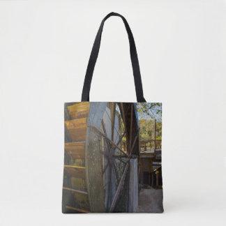 Wasser-Rad Dawt Mühle Tasche