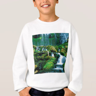 Wasser-Stellvertreter-Fall-Kaskaden-Strecke Oregon Sweatshirt