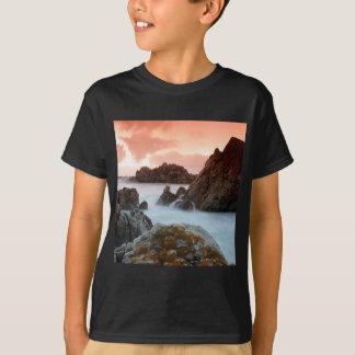 Wasser-surrealer Sonnenuntergang Südafrika T-Shirt