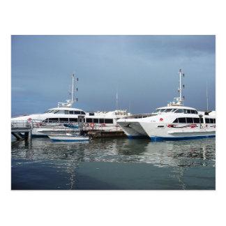 Wasser-Taxi-Anschluss, San Fernando, Trinidad Postkarte