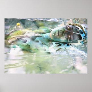 wasser water poster druck print art plakat