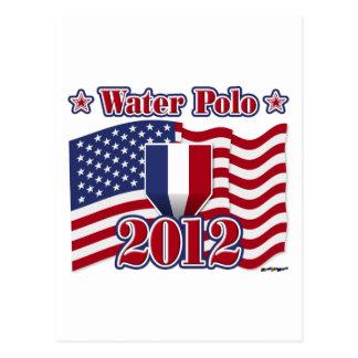 Wasserball 2012 postkarte