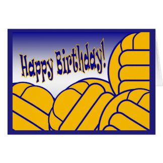 Wasserball - alles Gute zum Geburtstag vom größten Karte