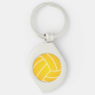 Wasserball-Ballmetallschlüsselkette Schlüsselanhänger
