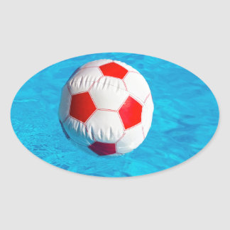 Wasserball aufkleber for Swimming pool aufkleber
