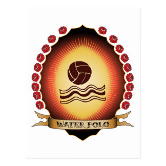 Wasserball Mandorla Postkarte