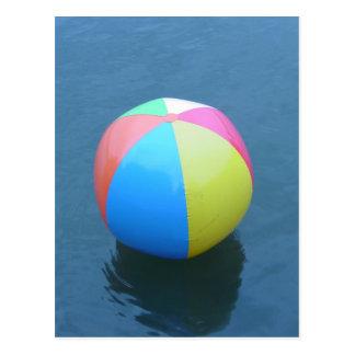 Wasserball Postkarte