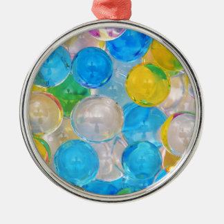 Wasserbälle Silbernes Ornament