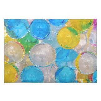 Wasserbälle Stofftischset