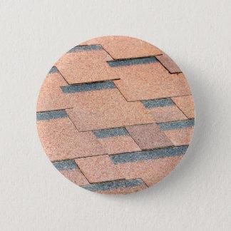 Wasserdichtes Fragment einer Bedeckung eines Dachs Runder Button 5,7 Cm