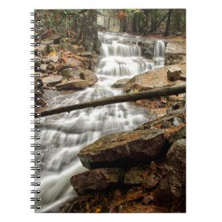 Wasserfall 4 notizblock