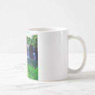 Wasserfall abgelegenes Kauai Kaffeetasse
