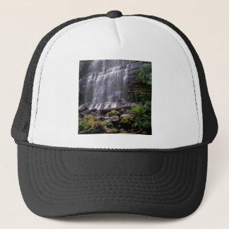 Wasserfall-Berg-Feld-Park Tasmanien Australien Truckerkappe