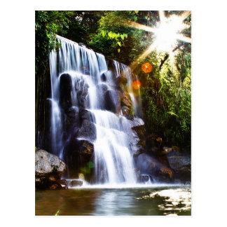 Wasserfall Casa-Sans Javier Mérida Postkarte