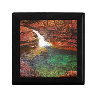 Wasserfall Erinnerungskiste