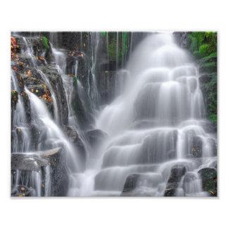 Wasserfall Fotodruck