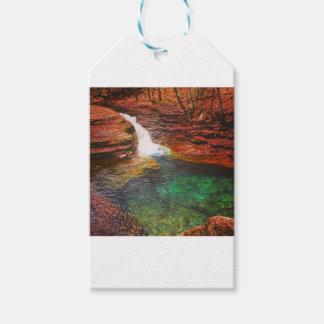 Wasserfall Geschenkanhänger