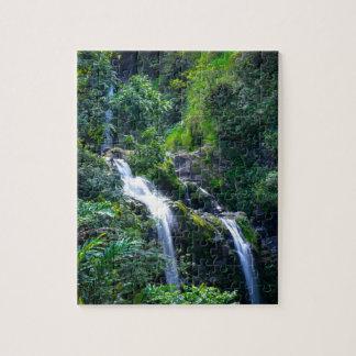 Wasserfall in Maui Hawaii Puzzle