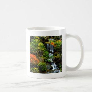 Wasserfall-japanischer Garten Portland Kaffeetasse