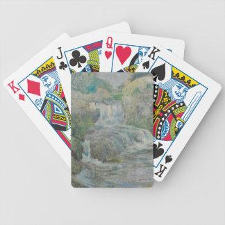 Wasserfall - John Henry Twachtman Bicycle Spielkarten