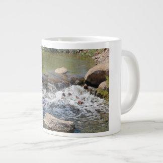Wasserfall-Kaffee-Tasse Jumbo-Tasse