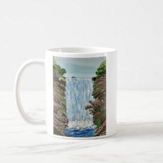 Wasserfall-Kaffee-Tasse Kaffeetasse